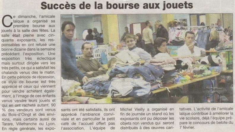 Le Patriote Beaujolais, édition du 9 décembre 2009