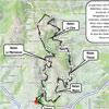 Circuit D randonnée Bois d'Oingt La Buisantine 2016